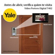 Video Portero Digital Yale 7402